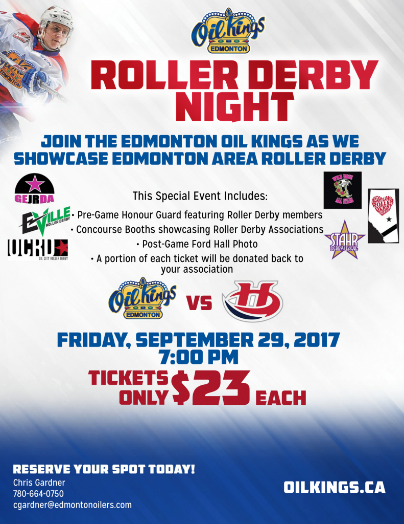 OilKings2017-18 Roller Derby Night-1